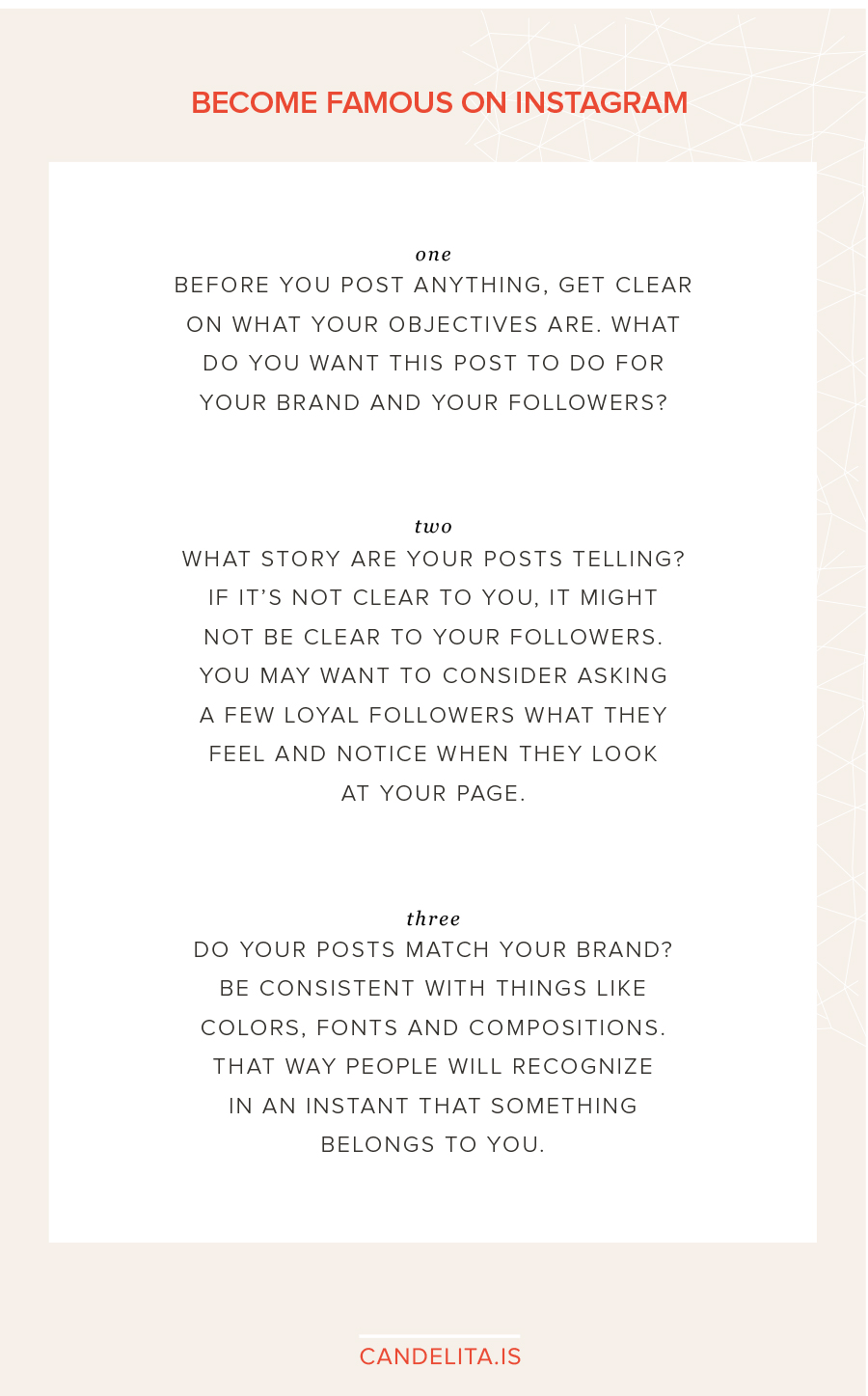 How to become famous on instagram