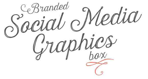 Branded Social Media Graphics in a Box